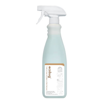 Ecobug® Fresh & Clean Pet Odour & Stain Remover (740ml)