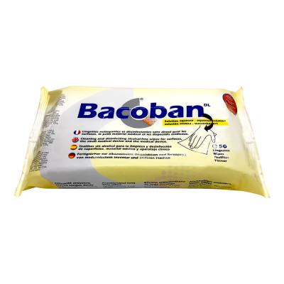 Bacoban® Disinfectant wipes (50 pieces/Pack)