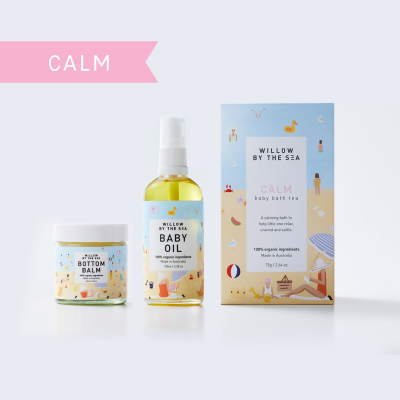 Willow By The Sea Calm New Baby Skin Care Gift Set
