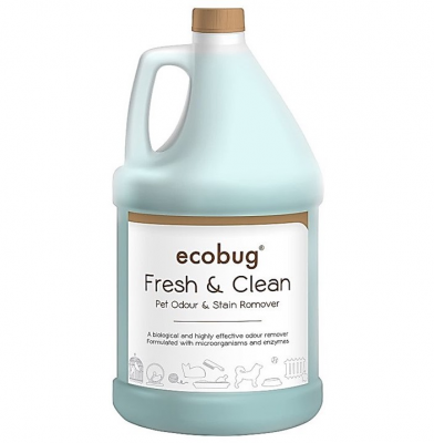 Ecobug® Fresh & Clean Pet Odour & Stain Remover (3.78L / 1 gal)